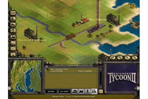 Download Railroad Tycoon 2 simulation for Windows XP/98/95 ...