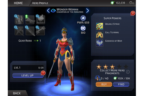 The complete character list for DC Legends on iOS and ...