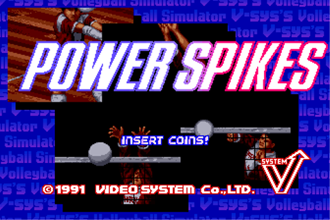 Power Spikes - Videogame by Video System Co. Ltd.
