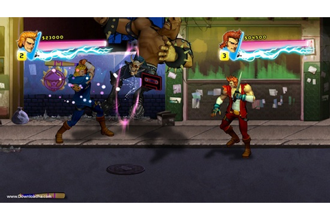 Double Dragon Neon Game - Free Download Full Version For PC