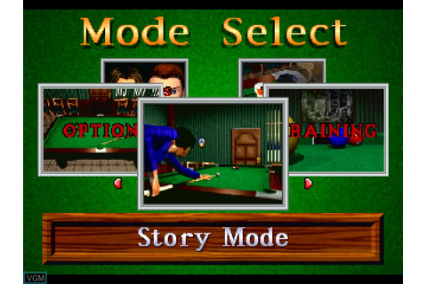Side Pocket 3 for Sony Playstation - The Video Games Museum