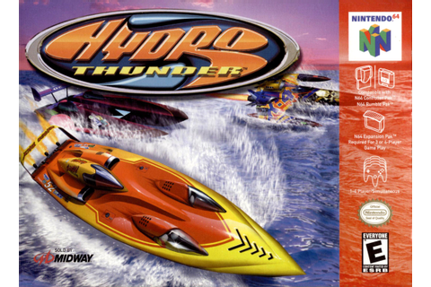Hydro Thunder Nintendo 64 Game