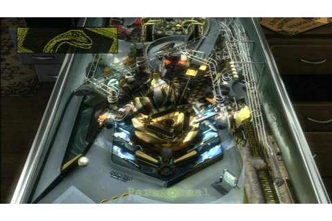 CGR Undertow - ZEN PINBALL: PARANORMAL for PS3 Video Game ...