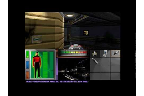 STAR TREK GENERATIONS PC WIN 95 - YouTube