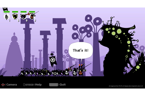 Review: Patapon Remastered
