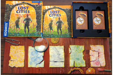 Lost Cities (Card Game) | Dad's Gaming Addiction