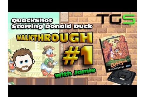 Walkthrough: Quackshot Starring Donald Duck - Sega Mega ...
