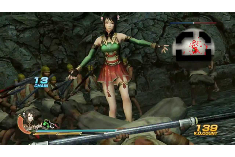 DYNASTY WARRIORS 8 (E3 2013) GAMEPLAY - YouTube