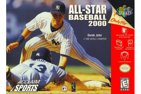 All-Star Baseball 2000 Nintendo 64 Game