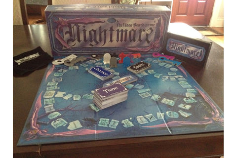 Retro Review – Nightmare: The VHS Interactive Board Game ...