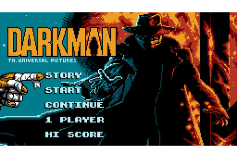 Darkman - NES Gameplay - YouTube