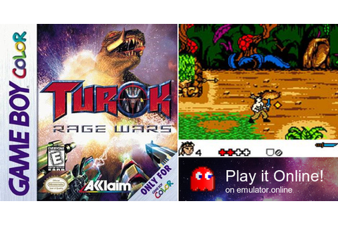 Play Turok: Rage Wars on Game Boy