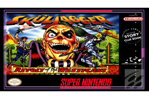 SNES Super Side Quest - Game # 185 - Sküljagger: Revolt of ...