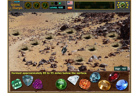 Dig for Gemstones Game | Archaeology Excavation Game