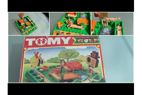 My 1980s Tomy Tricky Golf Game (80s Retro) - YouTube