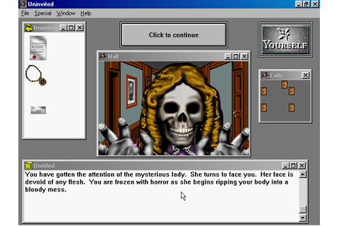 Uninvited Screenshots for Windows 3.x - MobyGames