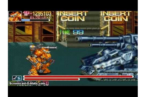 Armored Warriors - Arcade Classic CPS2 Game - YouTube