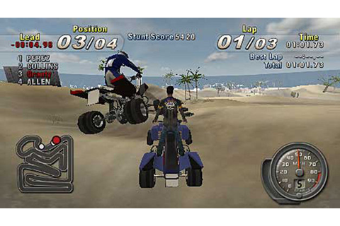 ATV Offroad Fury - Blazin' Trails (USA) ISO