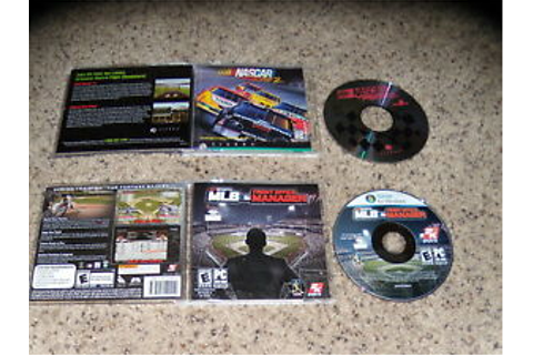 MLB Front Office Manager & Nascar Racing 2 - PC Games ...