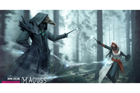 Maguss: The Mobile Multiplayer Spell Casting Game | Indiegogo