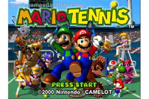 Mario Tennis - Nintendo N64 - Games Database