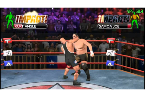 TNA Impact! - PPSSPP v0.6.1 [PC] - YouTube