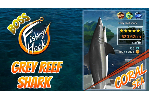 Fishing Hook game for Android - Boss Fish at Coral Sea ...