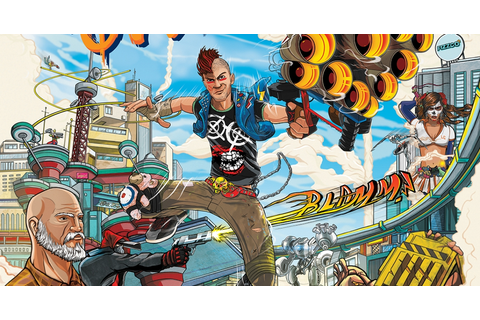 So I Tried… Sunset Overdrive | GameGrin