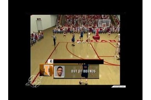NCAA College Basketball 2K3 GameCube Gameplay - Color ...