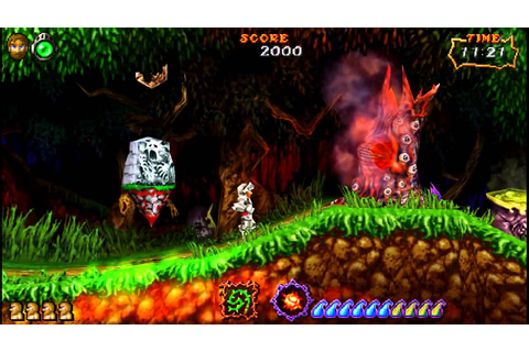 ghost and goblins ultimate en PC!!!!! - YouTube