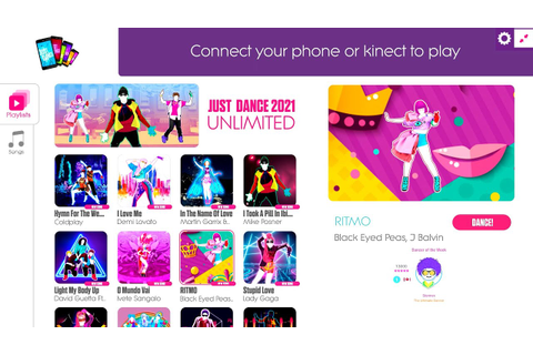 Just Dance 2021 Unlimited 300 SONGS! | Menu Songlist - YouTube