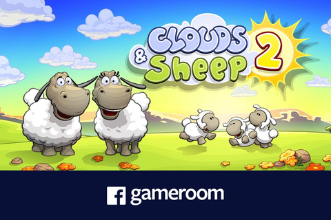 Play Clouds & Sheep 2 now on Facebook Gameroom! | HandyGames™