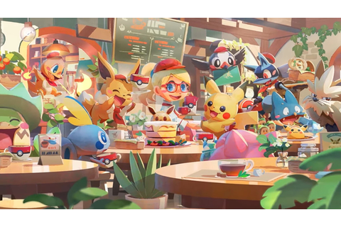 Pokémon Café Mix Is A Free-To-Start Game Coming To Switch ...