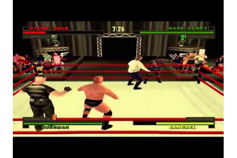 WWF/WWE Attitude - Part 1 - Career Mode With Stone Cold ...