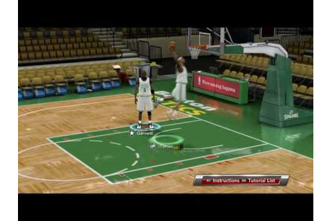 NBA 2k9 PC Alley-Oop - YouTube