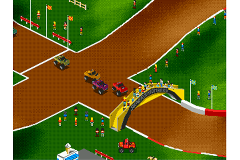 Play Super Skidmarks Sega Genesis online | Play retro ...