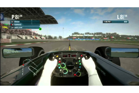 Classic Game Room - F1 2012 review part 1 - YouTube
