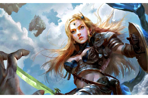 Warrior Girl Armor Shield Game Woman Sword 1920x1200 Hd ...