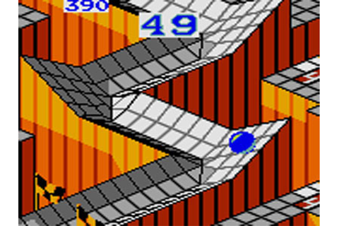 Marble Madness Review for Game Gear (1992) - Defunct Games