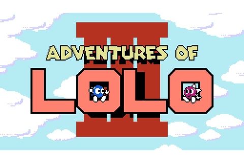 Adventures of Lolo 3 - NES Gameplay - YouTube