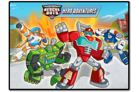 Transformers Rescue Bots: Hero Adventures - Android Apps ...