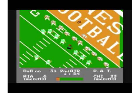 Let's Play NES Play Action Football - YouTube
