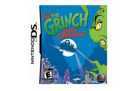Dr. Seuss: How The Grinch Stole Christmas Nintendo DS Game ...