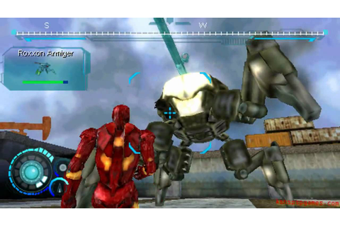 Iron Man 2 ISO for PPSSPP Download highly compressed