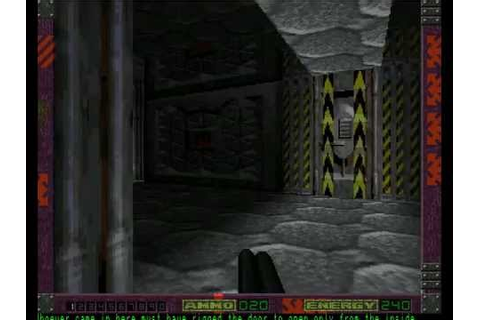 alien breed 3D 2 - the killing grounds for Amiga - YouTube