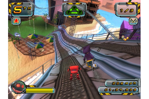 Download Crazy Frog Racer 2 Full PC Game - Free Full Version
