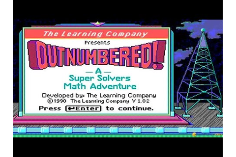 Super Solvers: Outnumbered! gameplay (PC Game, 1990) - YouTube