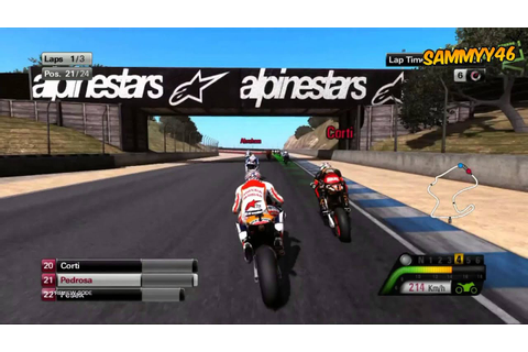 MotoGP 2013 | Gameplay footage HD | Rossi and Pedrosa ...