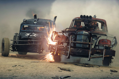 The Mad Max game has little to do with the movie, but ...