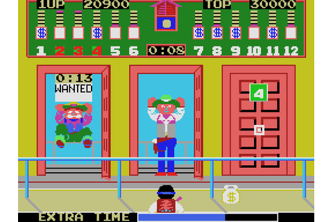 Bank Panic (1985) by Sega SG-1000 game